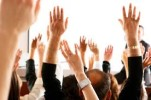 workshop raised hands